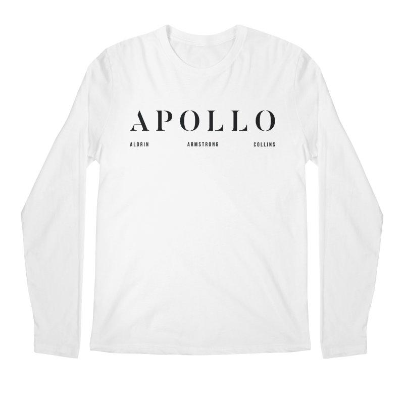 Apollo 11 Men's Regular Longsleeve T-Shirt by Photon Illustration's Artist Shop
