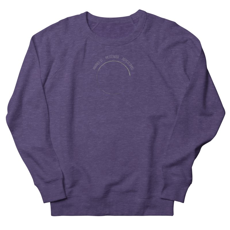 Mission: Mercury Women's French Terry Sweatshirt by Photon Illustration's Artist Shop