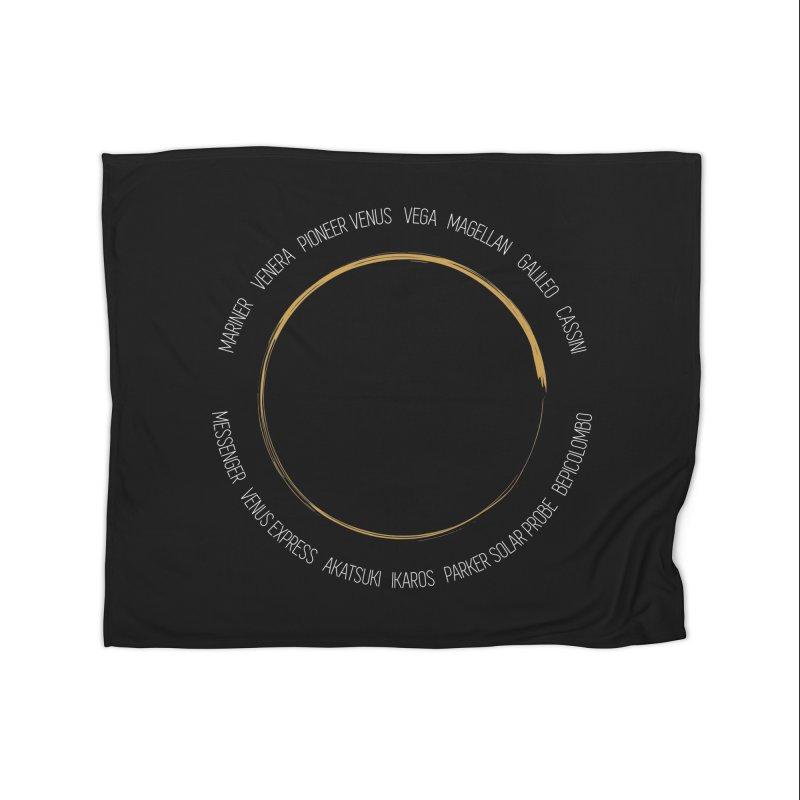 Mission: Venus Home Blanket by Photon Illustration's Artist Shop