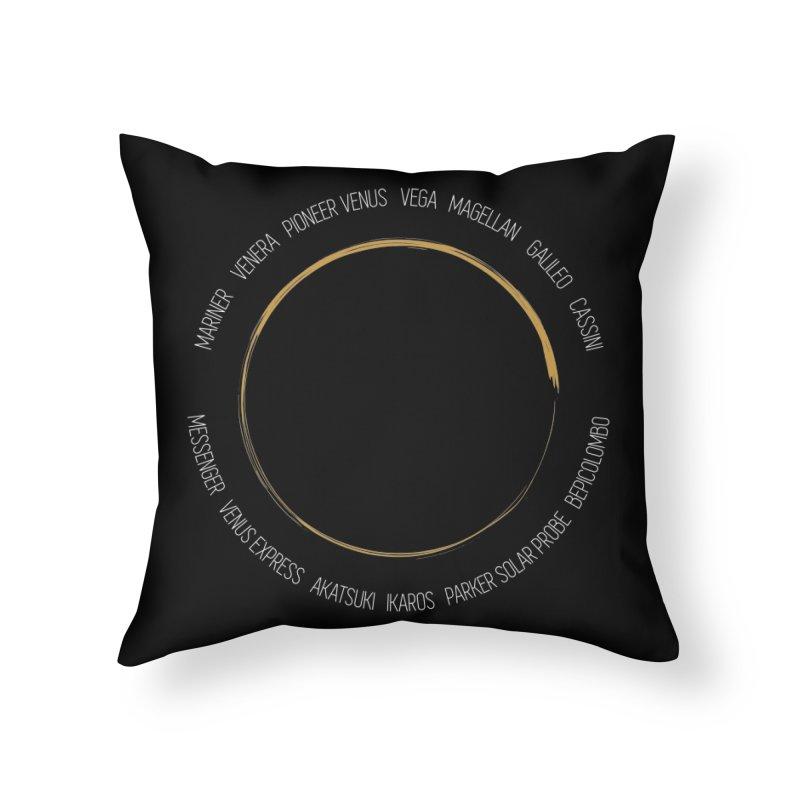 Mission: Venus Home Throw Pillow by Photon Illustration's Artist Shop