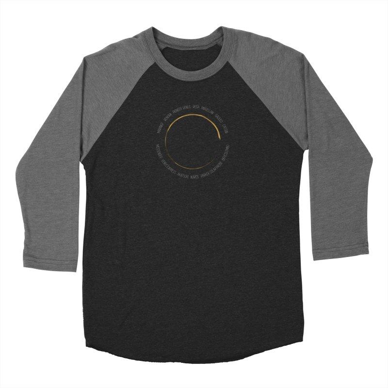 Mission: Venus Women's Baseball Triblend Longsleeve T-Shirt by Photon Illustration's Artist Shop
