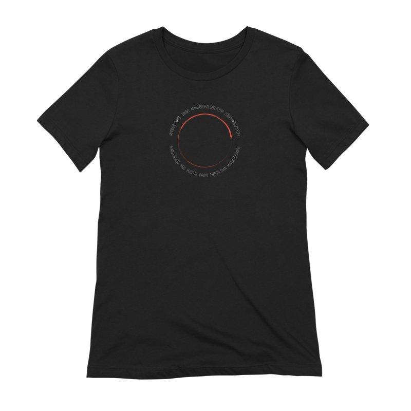 Mission: Mars Women's Extra Soft T-Shirt by Photon Illustration's Artist Shop