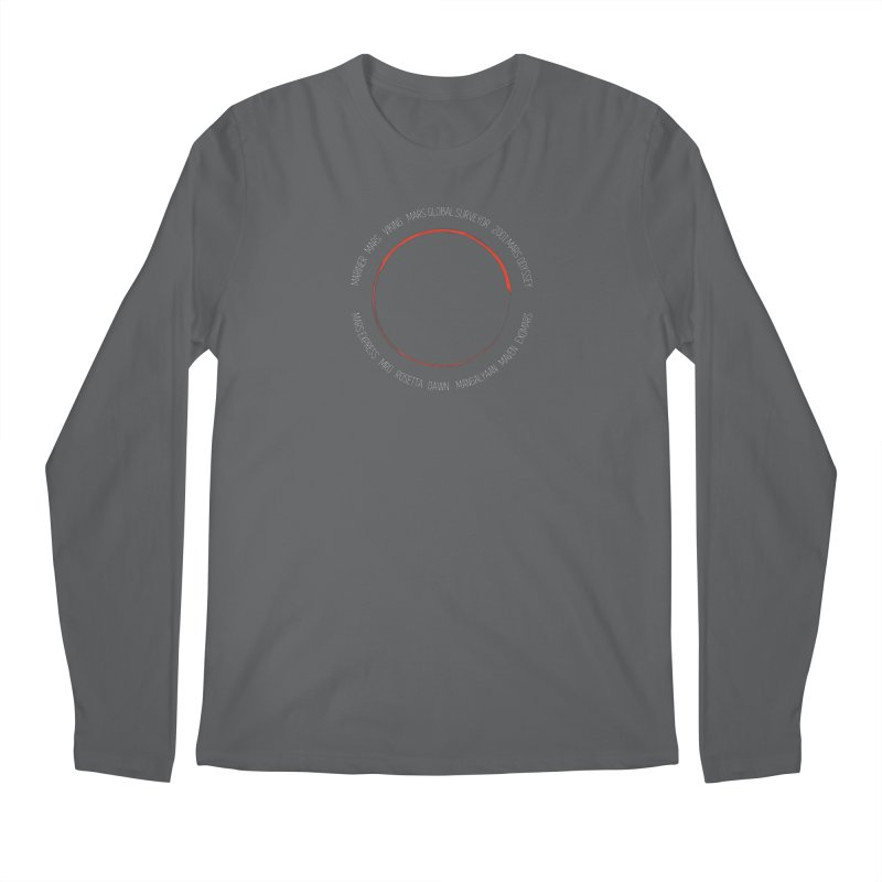 Mission: Mars Men's Regular Longsleeve T-Shirt by Photon Illustration's Artist Shop