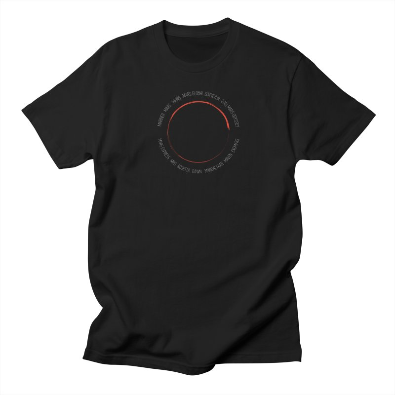 Mission: Mars Women's Regular Unisex T-Shirt by Photon Illustration's Artist Shop