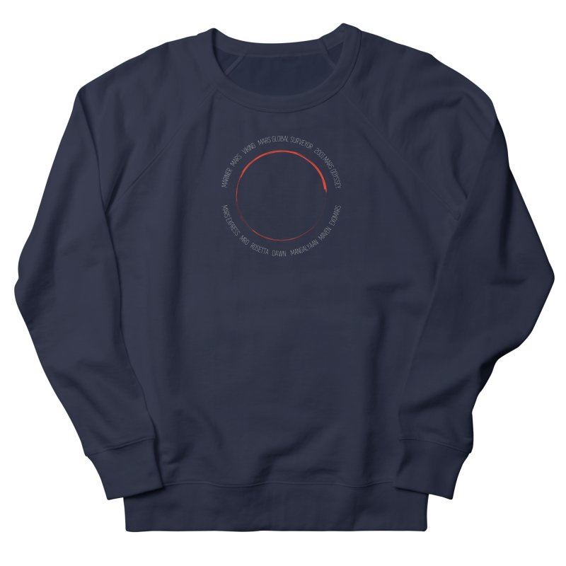 Mission: Mars Women's French Terry Sweatshirt by Photon Illustration's Artist Shop