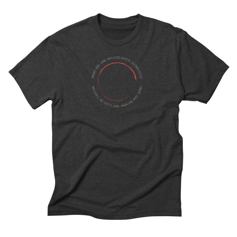 Mission: Mars Men's Triblend T-Shirt by Photon Illustration's Artist Shop