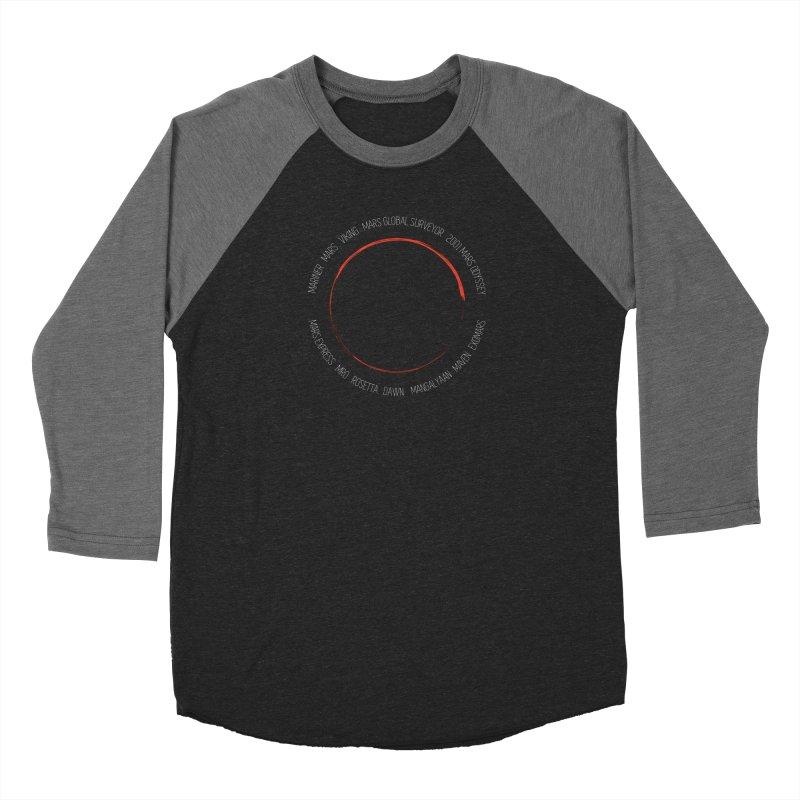 Mission: Mars Women's Baseball Triblend Longsleeve T-Shirt by Photon Illustration's Artist Shop