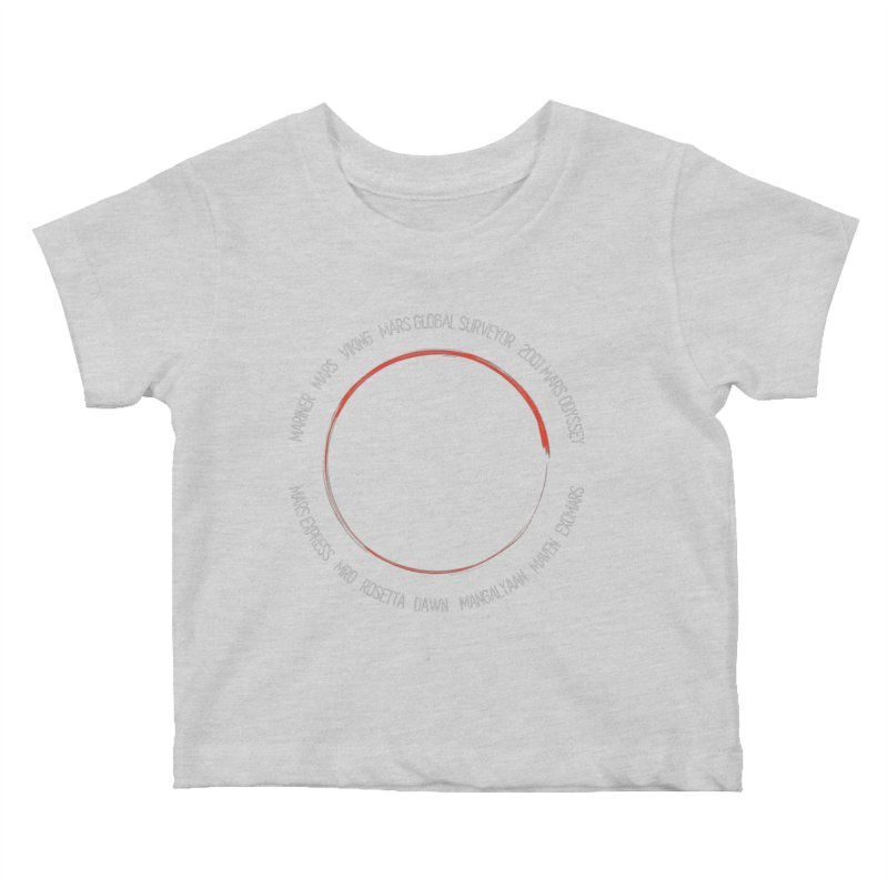Mission: Mars Kids Baby T-Shirt by Photon Illustration's Artist Shop