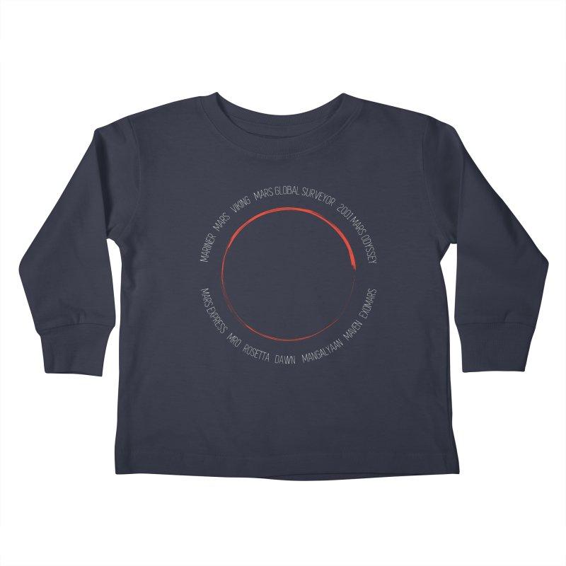 Mission: Mars Kids Toddler Longsleeve T-Shirt by Photon Illustration's Artist Shop