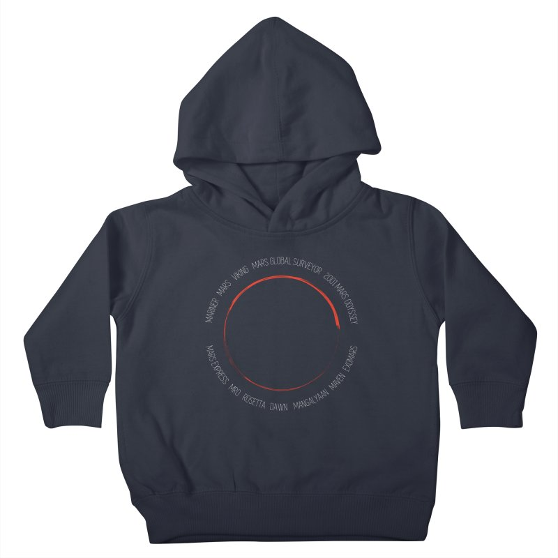 Mission: Mars Kids Toddler Pullover Hoody by Photon Illustration's Artist Shop