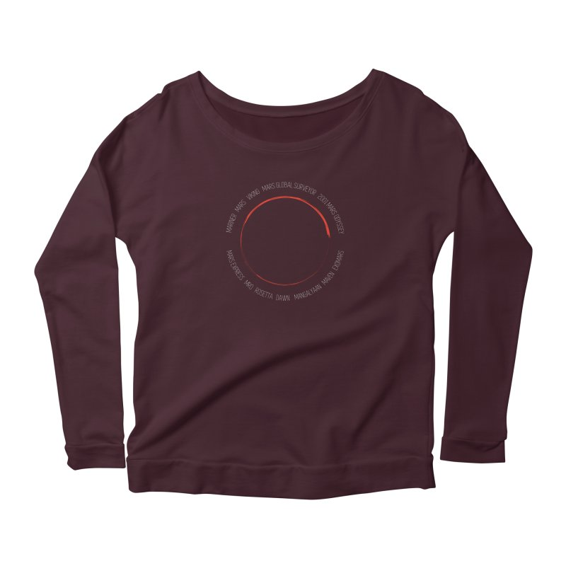 Mission: Mars Women's Scoop Neck Longsleeve T-Shirt by Photon Illustration's Artist Shop