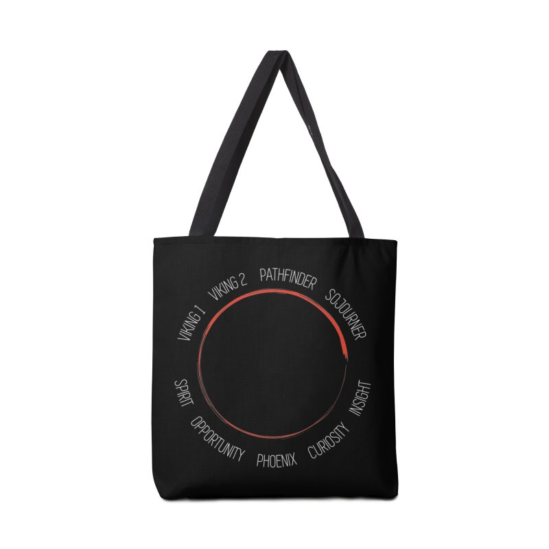 Mission: Mars on the Ground Accessories Bag by Photon Illustration's Artist Shop