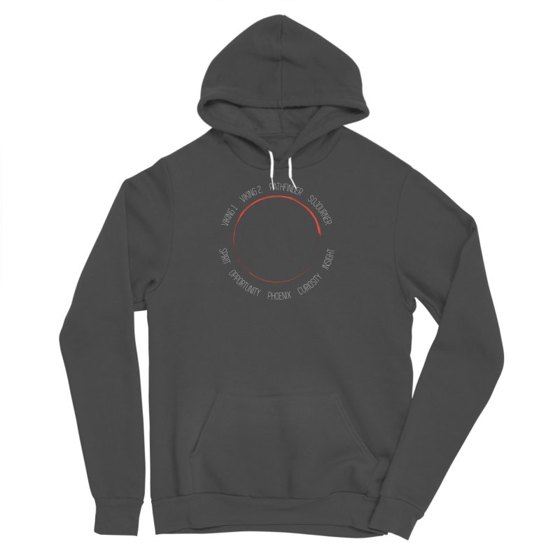 Mission: Mars on the Ground Men's Sponge Fleece Pullover Hoody by Photon Illustration's Artist Shop