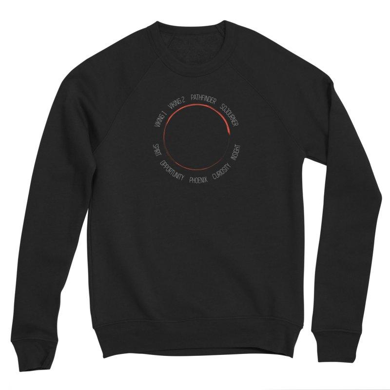 Mission: Mars on the Ground Men's Sponge Fleece Sweatshirt by Photon Illustration's Artist Shop