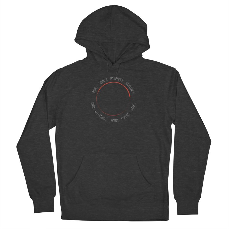 Mission: Mars on the Ground Women's French Terry Pullover Hoody by Photon Illustration's Artist Shop