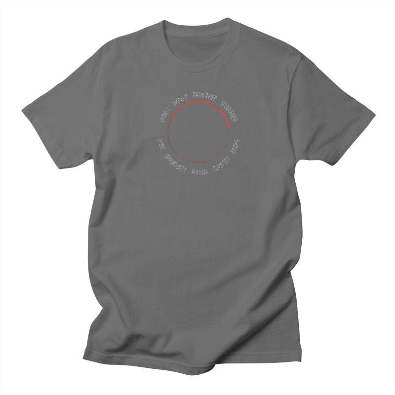 Mission: Mars on the Ground Men's Regular T-Shirt by Photon Illustration's Artist Shop