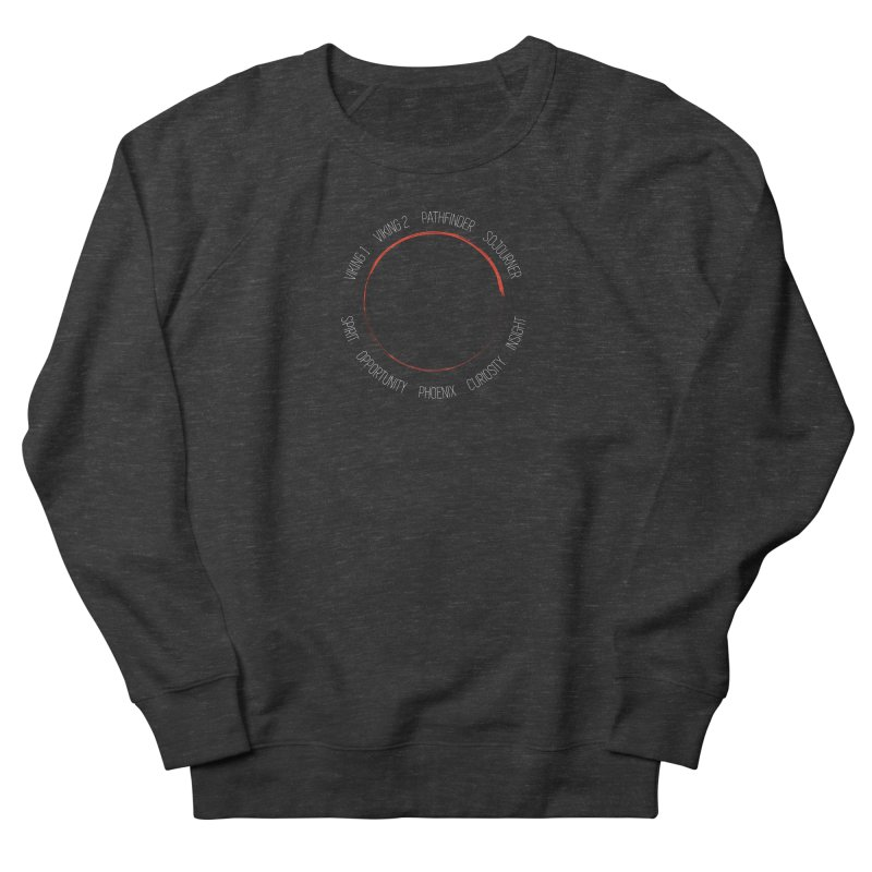Mission: Mars on the Ground Men's French Terry Sweatshirt by Photon Illustration's Artist Shop