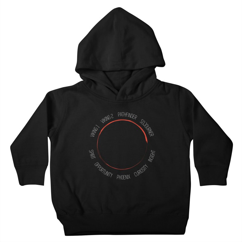 Mission: Mars on the Ground Kids Toddler Pullover Hoody by Photon Illustration's Artist Shop