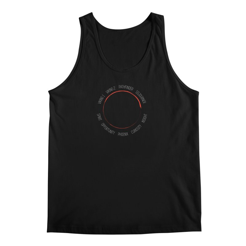 Mission: Mars on the Ground Men's Regular Tank by Photon Illustration's Artist Shop