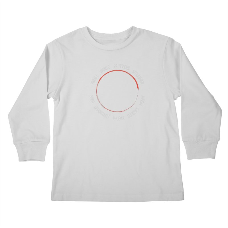 Mission: Mars on the Ground Kids Longsleeve T-Shirt by Photon Illustration's Artist Shop