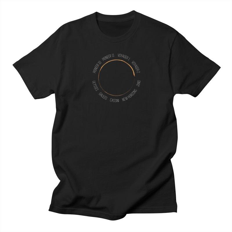 Mission: Jupiter Men's Regular T-Shirt by Photon Illustration's Artist Shop