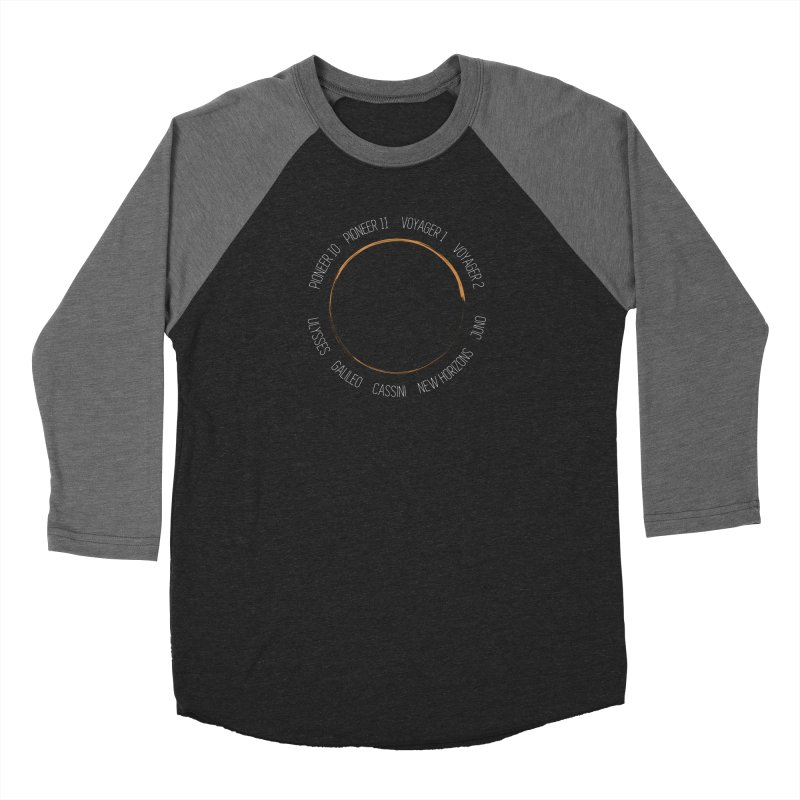 Mission: Jupiter Men's Baseball Triblend Longsleeve T-Shirt by Photon Illustration's Artist Shop
