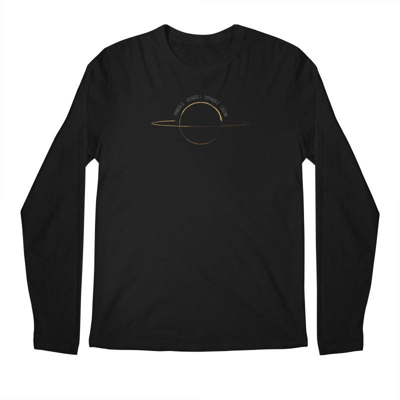 Mission: Saturn Men's Regular Longsleeve T-Shirt by Photon Illustration's Artist Shop
