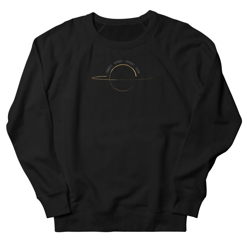 Mission: Saturn Men's French Terry Sweatshirt by Photon Illustration's Artist Shop