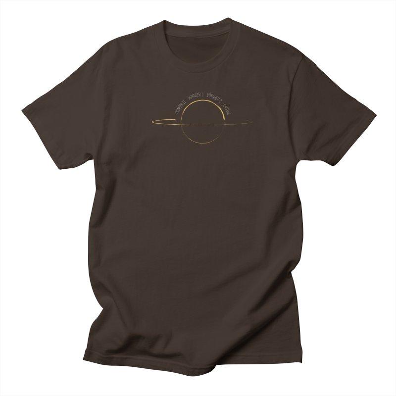 Mission: Saturn Men's Regular T-Shirt by Photon Illustration's Artist Shop