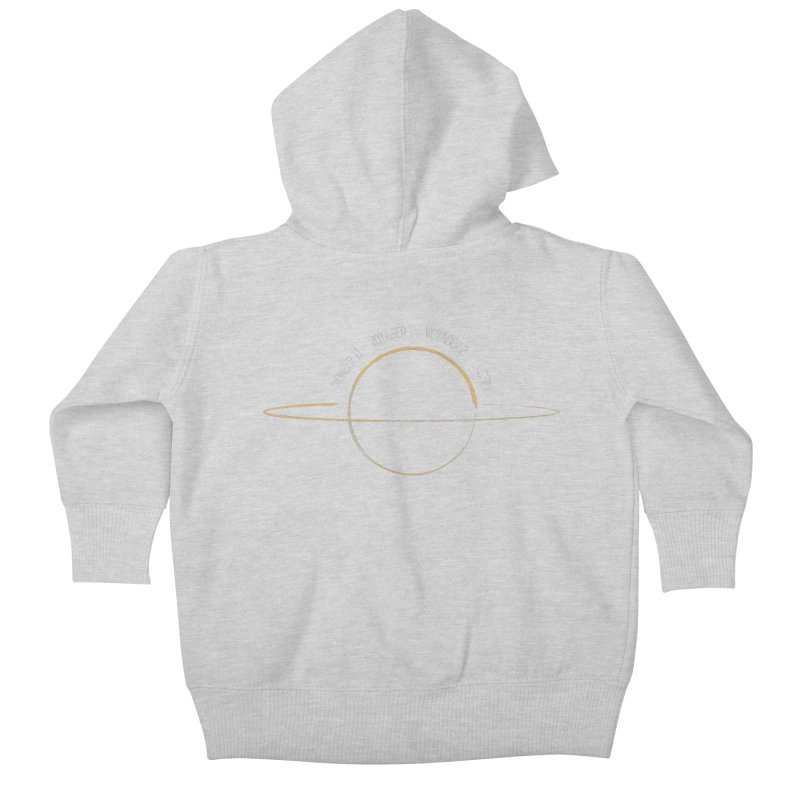 Mission: Saturn Kids Baby Zip-Up Hoody by Photon Illustration's Artist Shop