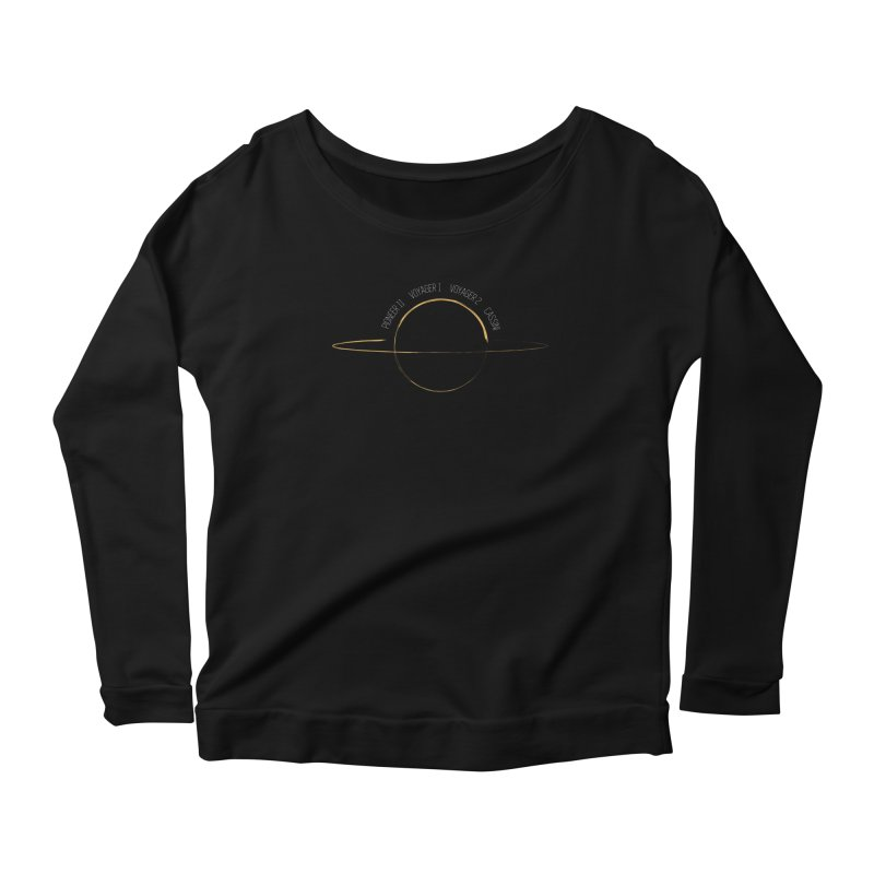 Mission: Saturn Women's Scoop Neck Longsleeve T-Shirt by Photon Illustration's Artist Shop