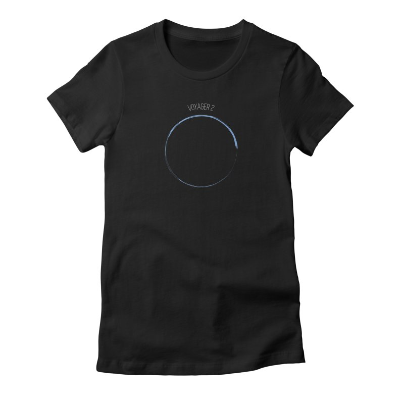 Mission: Neptune Women's Fitted T-Shirt by Photon Illustration's Artist Shop