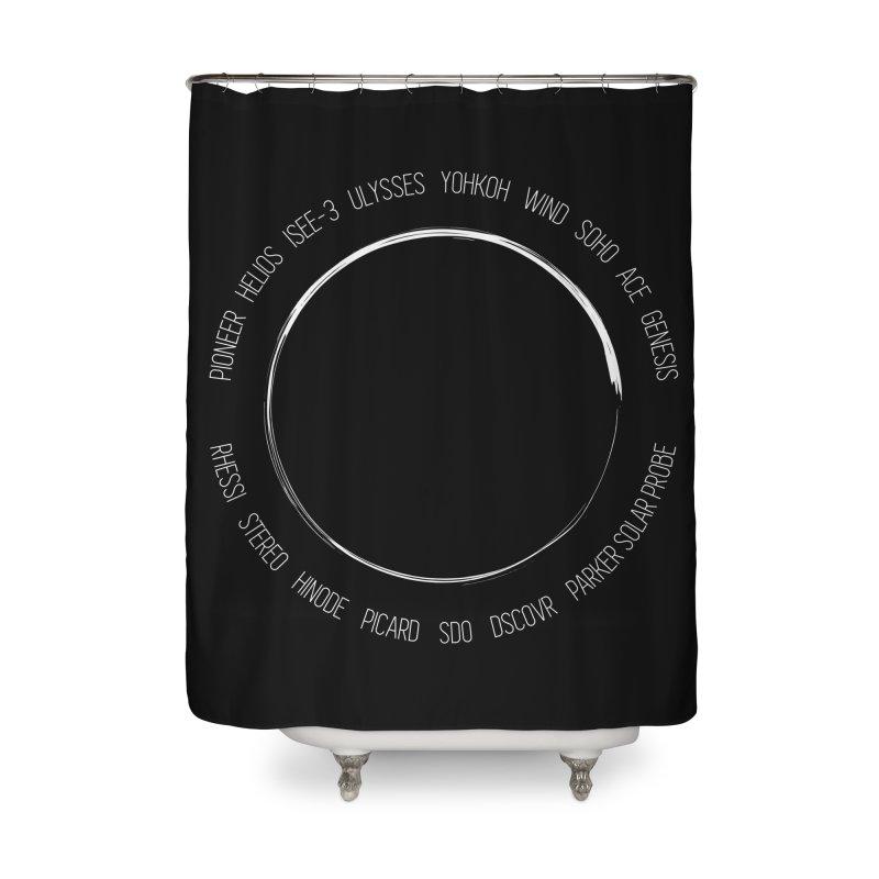 Mission: Sun Home Shower Curtain by Photon Illustration's Artist Shop