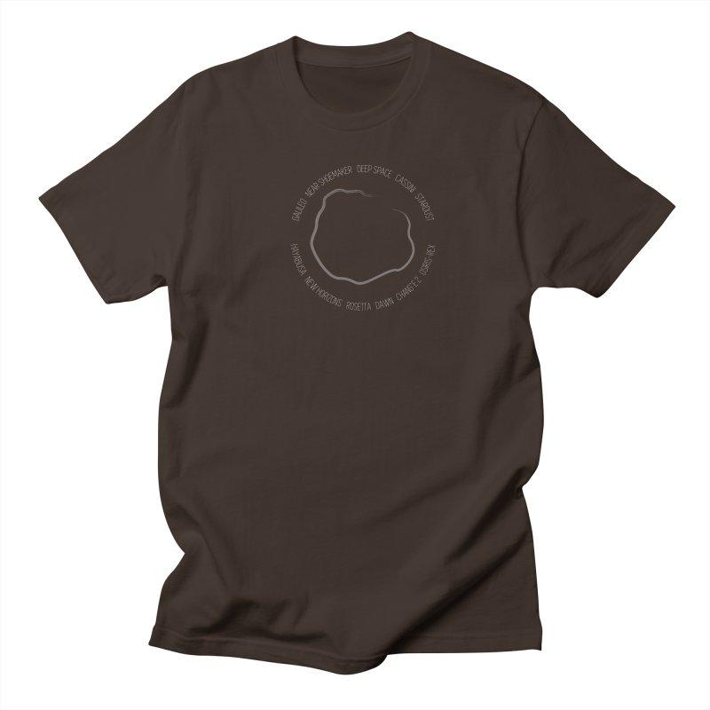 Mission: Asteroid Men's Regular T-Shirt by Photon Illustration's Artist Shop