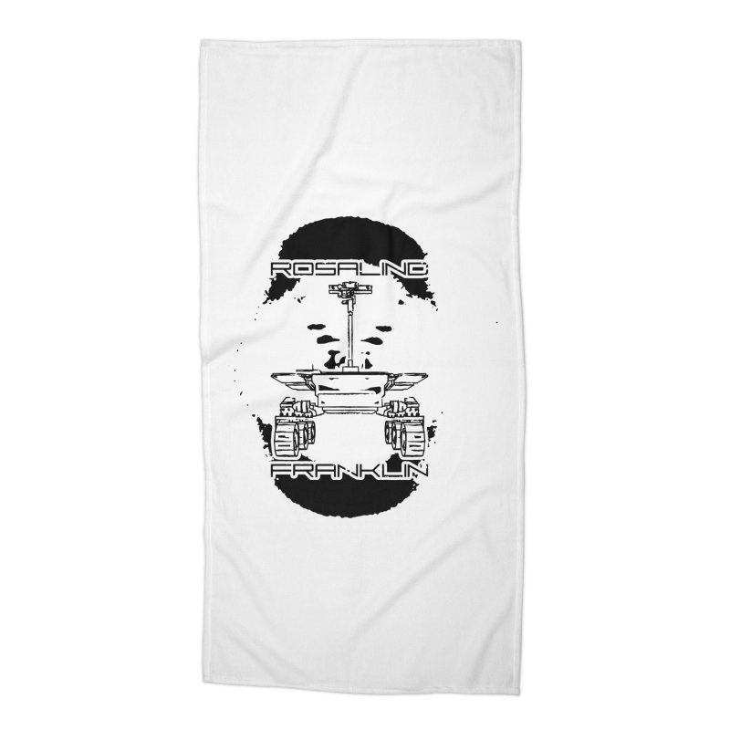 Rosalind Franklin Rover Accessories Beach Towel by Photon Illustration's Artist Shop