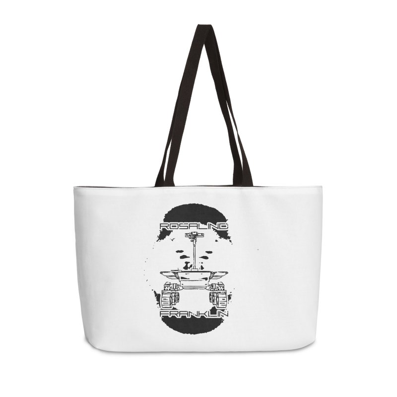 Rosalind Franklin Rover Accessories Weekender Bag Bag by Photon Illustration's Artist Shop