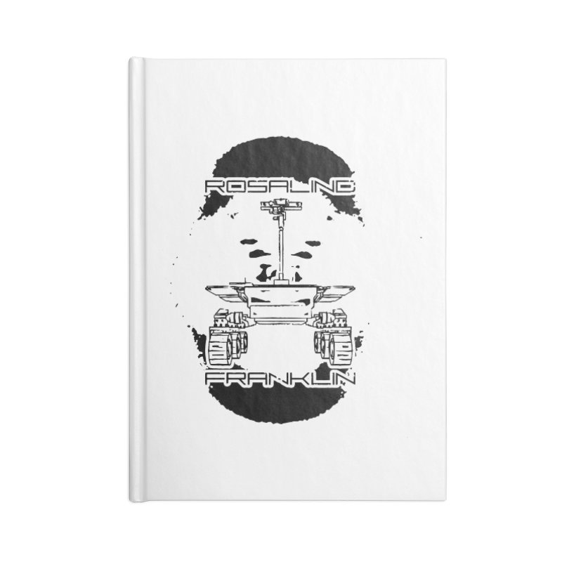 Rosalind Franklin Rover Accessories Lined Journal Notebook by Photon Illustration's Artist Shop