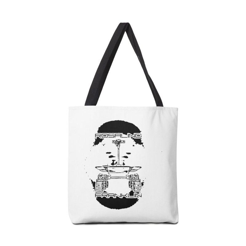 Rosalind Franklin Rover Accessories Tote Bag Bag by Photon Illustration's Artist Shop