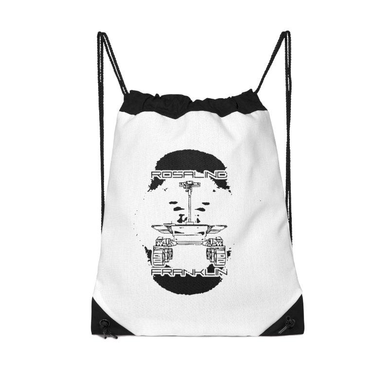 Rosalind Franklin Rover Accessories Drawstring Bag Bag by Photon Illustration's Artist Shop