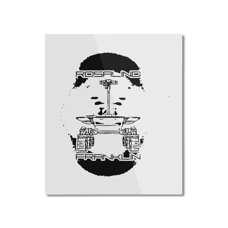 Rosalind Franklin Rover Home Mounted Aluminum Print by Photon Illustration's Artist Shop