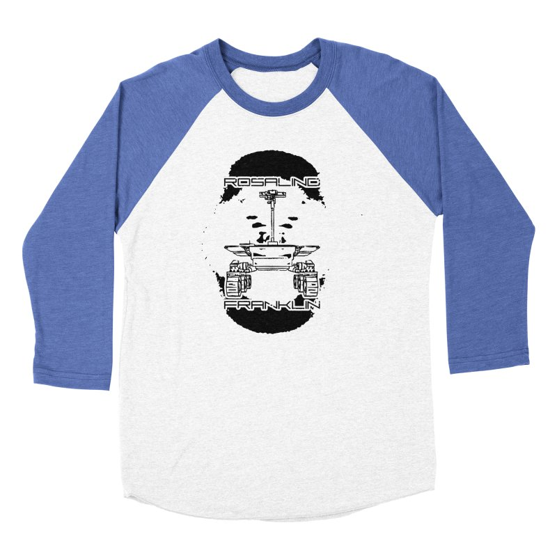 Rosalind Franklin Rover Women's Baseball Triblend Longsleeve T-Shirt by Photon Illustration's Artist Shop