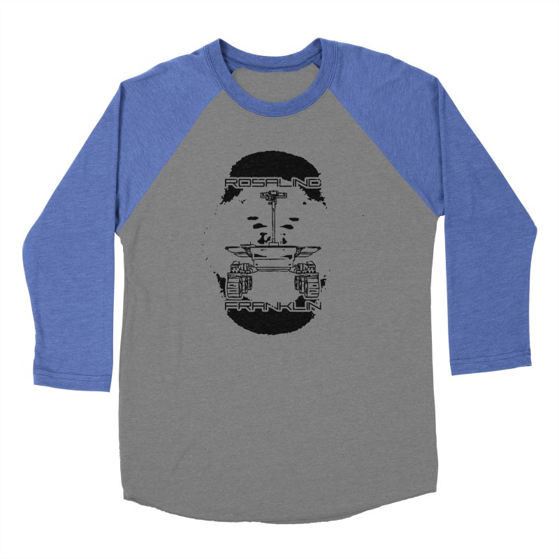 Rosalind Franklin Rover Men's Baseball Triblend Longsleeve T-Shirt by Photon Illustration's Artist Shop