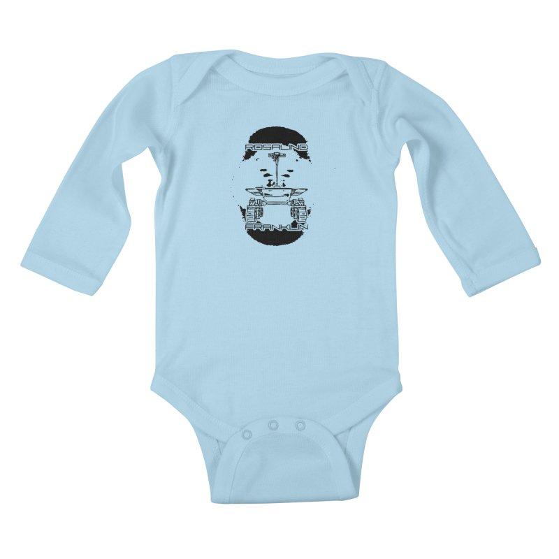 Rosalind Franklin Rover Kids Baby Longsleeve Bodysuit by Photon Illustration's Artist Shop