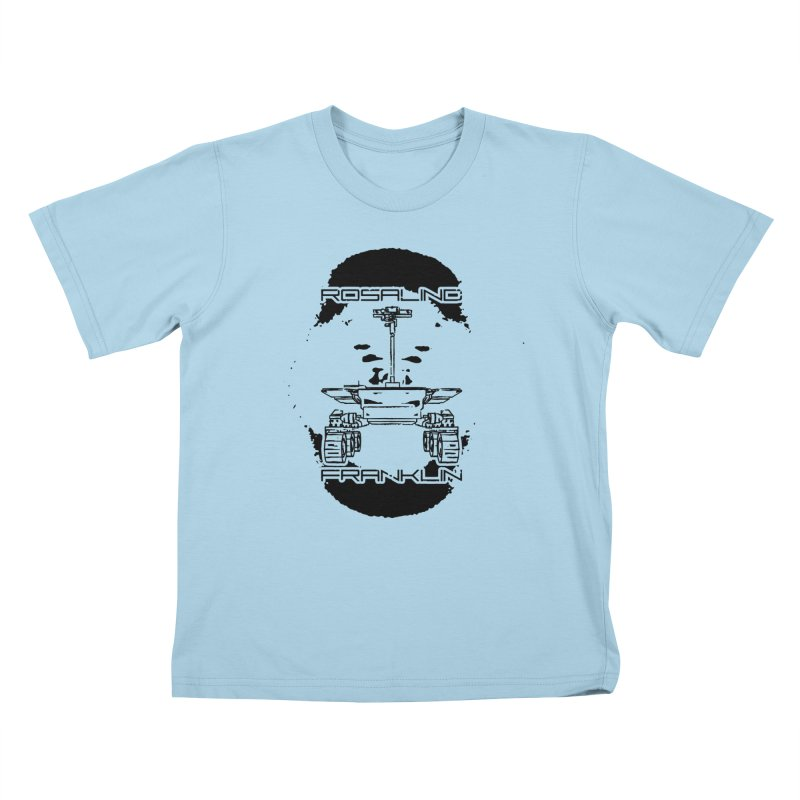 Rosalind Franklin Rover Kids T-Shirt by Photon Illustration's Artist Shop