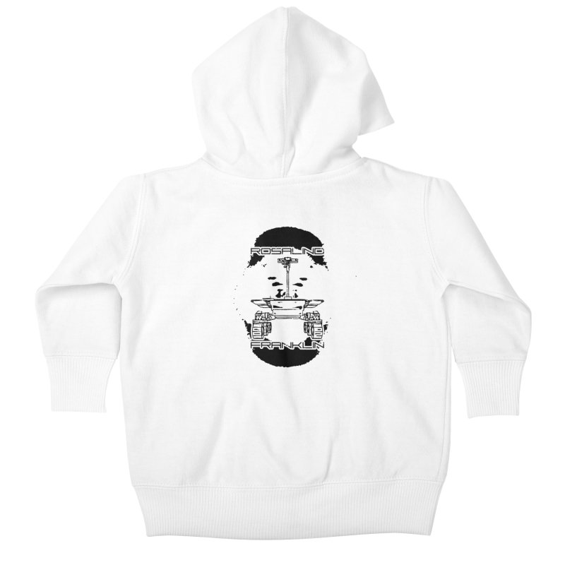 Rosalind Franklin Rover Kids Baby Zip-Up Hoody by Photon Illustration's Artist Shop