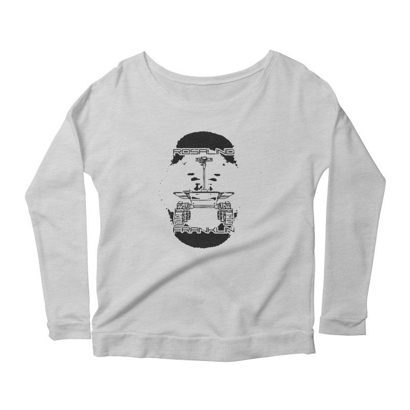 Rosalind Franklin Rover Women's Scoop Neck Longsleeve T-Shirt by Photon Illustration's Artist Shop