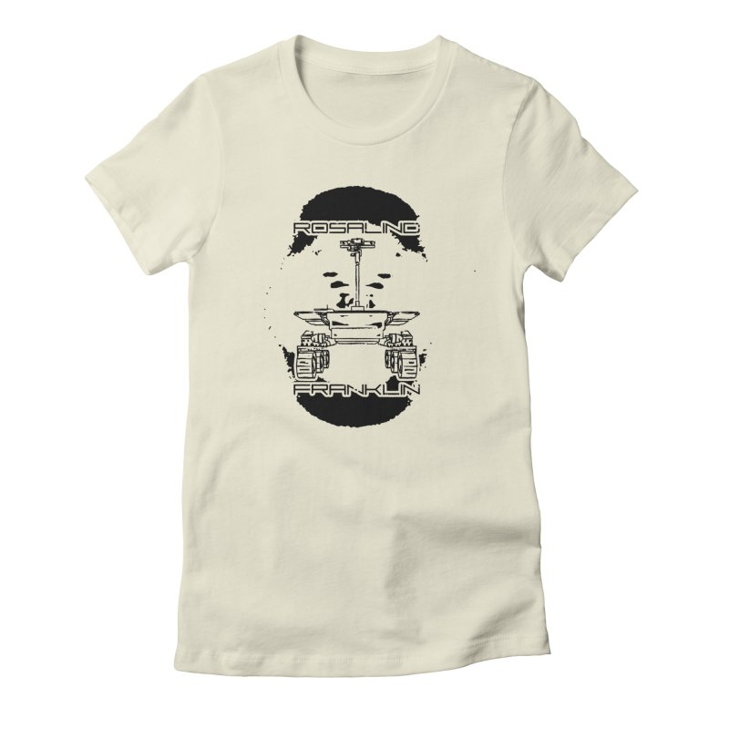 Rosalind Franklin Rover Women's Fitted T-Shirt by Photon Illustration's Artist Shop