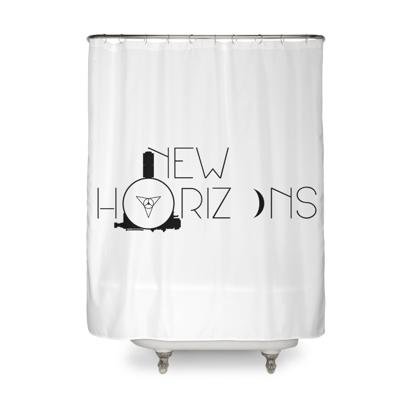 New Horizons Home Shower Curtain by Photon Illustration's Artist Shop