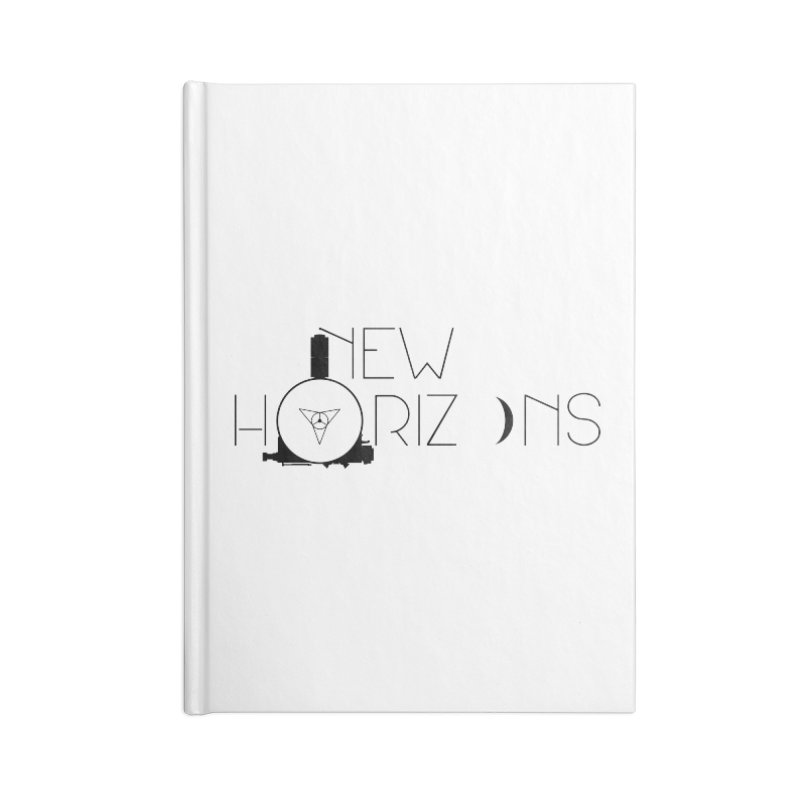 New Horizons Accessories Lined Journal Notebook by Photon Illustration's Artist Shop