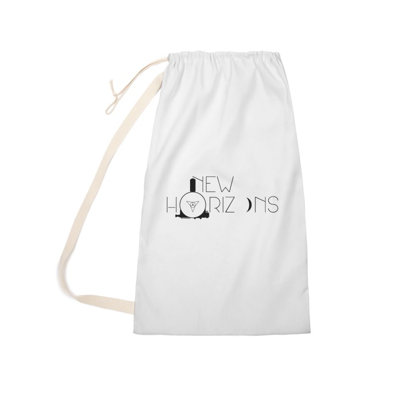 New Horizons Accessories Laundry Bag Bag by Photon Illustration's Artist Shop